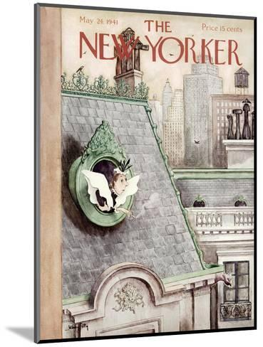 The New Yorker Cover - May 24, 1941-Mary Petty-Mounted Premium Giclee Print