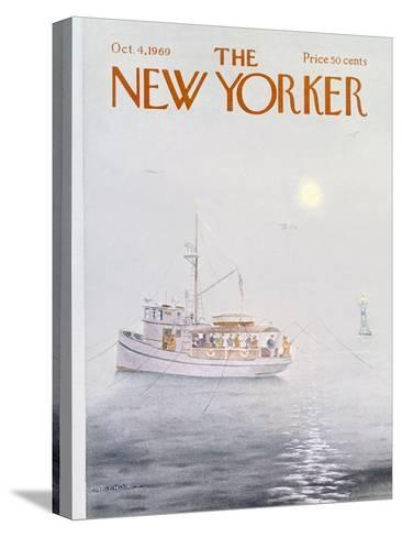 The New Yorker Cover - October 4, 1969-Albert Hubbell-Stretched Canvas Print