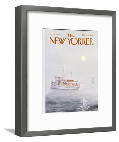 The New Yorker Cover - October 4, 1969-Albert Hubbell-Framed Art Print