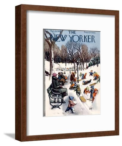 The New Yorker Cover - February 26, 1955 Premium Giclee Print by ...