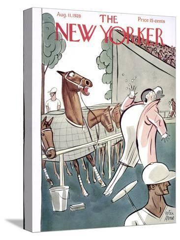 The New Yorker Cover - August 11, 1928-Peter Arno-Stretched Canvas Print