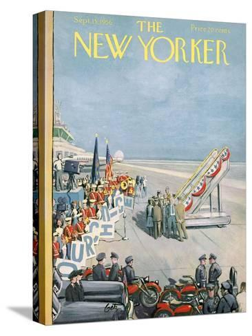 The New Yorker Cover - September 15, 1956-Arthur Getz-Stretched Canvas Print