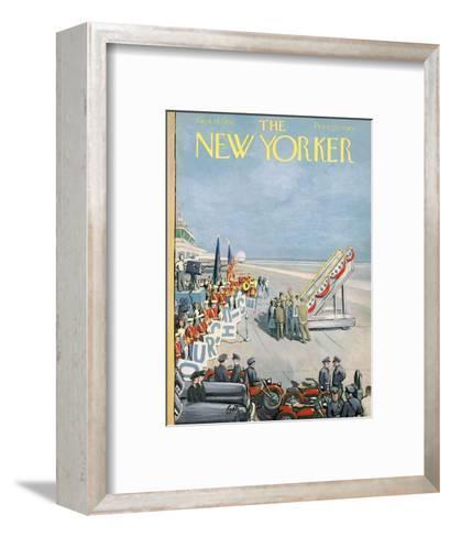 The New Yorker Cover - September 15, 1956-Arthur Getz-Framed Art Print