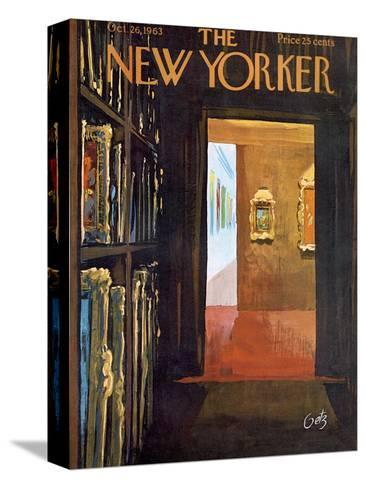 The New Yorker Cover - October 26, 1963-Arthur Getz-Stretched Canvas Print