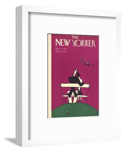 The New Yorker Cover - May 23, 1925-Julian de Miskey-Framed Art Print