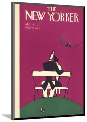 The New Yorker Cover - May 23, 1925-Julian de Miskey-Mounted Premium Giclee Print