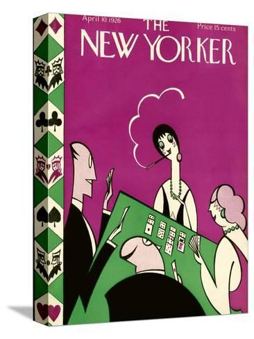 The New Yorker Cover - April 10, 1926-H.O. Hofman-Stretched Canvas Print