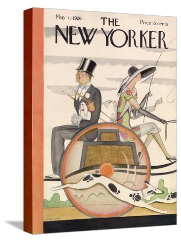 The New Yorker Cover - May 1, 1926-Ottmar Gaul-Stretched Canvas Print