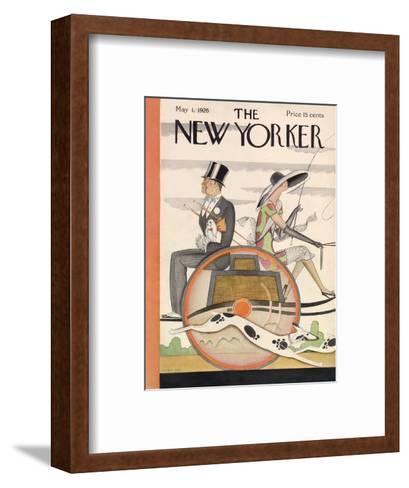 The New Yorker Cover - May 1, 1926-Ottmar Gaul-Framed Art Print