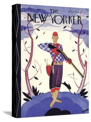 The New Yorker Cover - October 23, 1926-Andre De Schaub-Stretched Canvas Print
