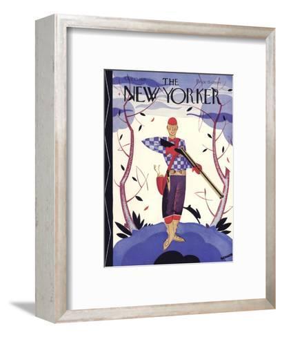 The New Yorker Cover - October 23, 1926-Andre De Schaub-Framed Art Print