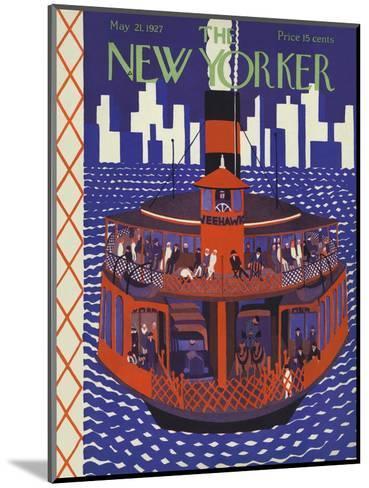 The New Yorker Cover - May 21, 1927-Ilonka Karasz-Mounted Premium Giclee Print