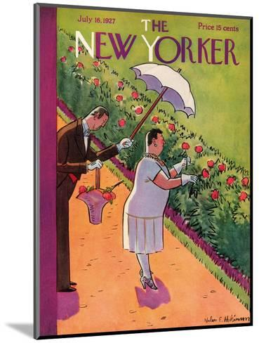 The New Yorker Cover - July 16, 1927-Helen E. Hokinson-Mounted Premium Giclee Print