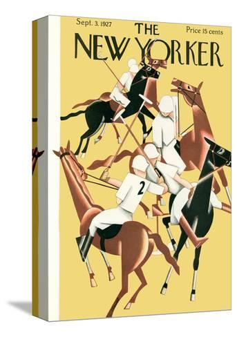 The New Yorker Cover - September 3, 1927-Theodore G. Haupt-Stretched Canvas Print