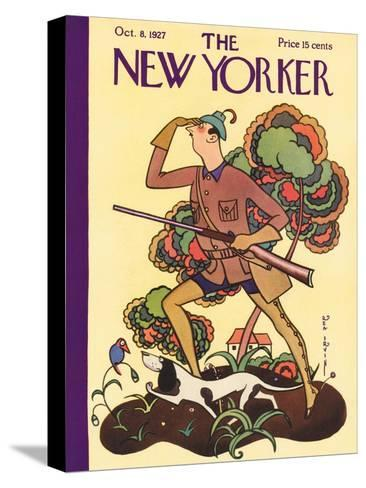 The New Yorker Cover - October 8, 1927-Rea Irvin-Stretched Canvas Print