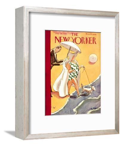 The New Yorker Cover - July 28, 1928-Helen E. Hokinson-Framed Art Print
