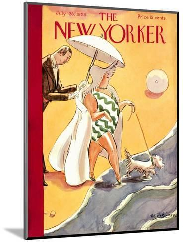 The New Yorker Cover - July 28, 1928-Helen E. Hokinson-Mounted Premium Giclee Print