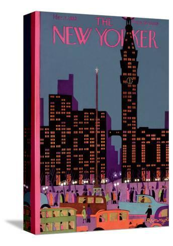 The New Yorker Cover - March 2, 1929-Adolph K. Kronengold-Stretched Canvas Print
