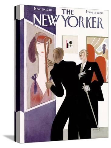 The New Yorker Cover - November 29, 1930-Victor Bobritsky-Stretched Canvas Print