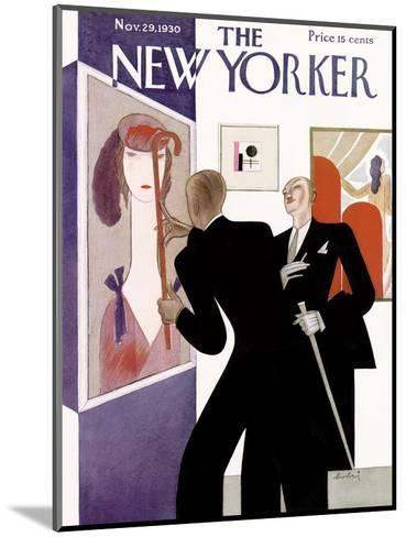 The New Yorker Cover - November 29, 1930-Victor Bobritsky-Mounted Premium Giclee Print