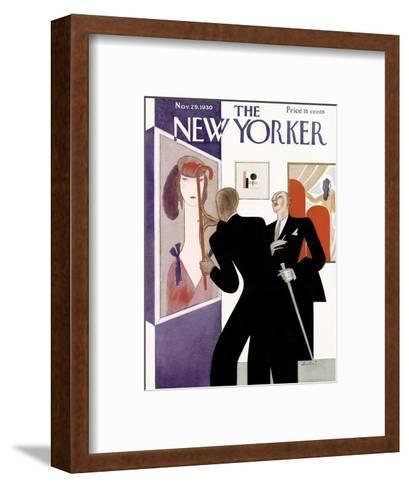The New Yorker Cover - November 29, 1930-Victor Bobritsky-Framed Art Print