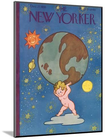 The New Yorker Cover - December 27, 1930-Rea Irvin-Mounted Premium Giclee Print
