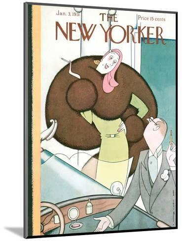 The New Yorker Cover - January 3, 1931-Rea Irvin-Mounted Premium Giclee Print