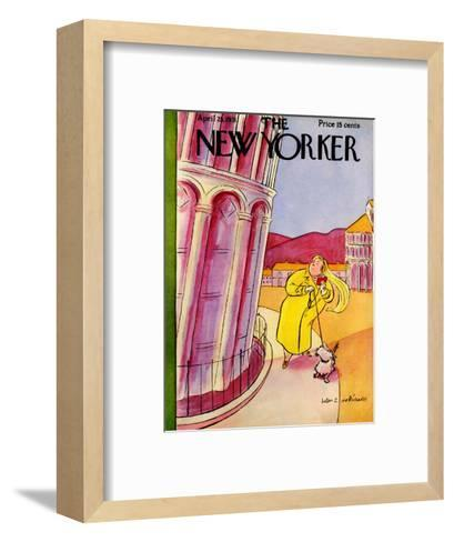The New Yorker Cover - April 25, 1931-Helen E. Hokinson-Framed Art Print