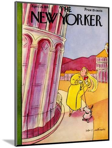 The New Yorker Cover - April 25, 1931-Helen E. Hokinson-Mounted Premium Giclee Print