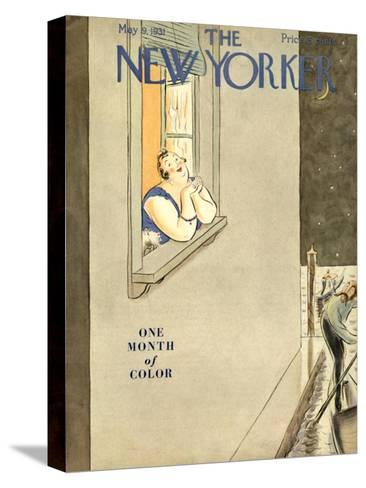 The New Yorker Cover - May 9, 1931-Helen E. Hokinson-Stretched Canvas Print