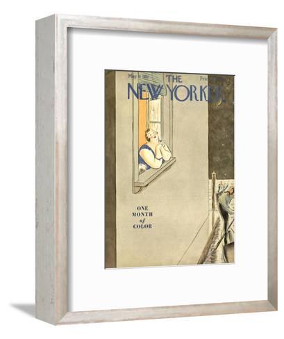 The New Yorker Cover - May 9, 1931-Helen E. Hokinson-Framed Art Print