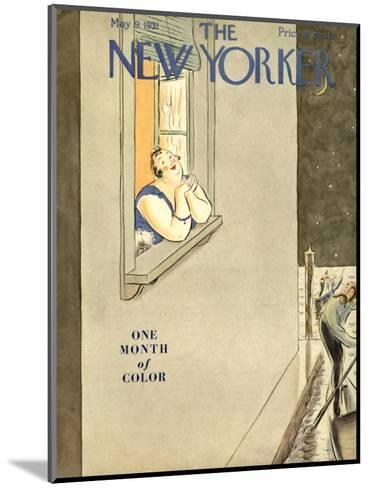 The New Yorker Cover - May 9, 1931-Helen E. Hokinson-Mounted Premium Giclee Print