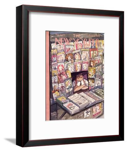 The New Yorker Cover - May 30, 1931-Barney Tobey-Framed Art Print