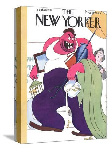 The New Yorker Cover - September 26, 1931-Rea Irvin-Stretched Canvas Print