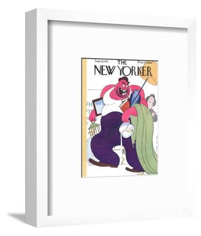 The New Yorker Cover - September 26, 1931-Rea Irvin-Framed Art Print