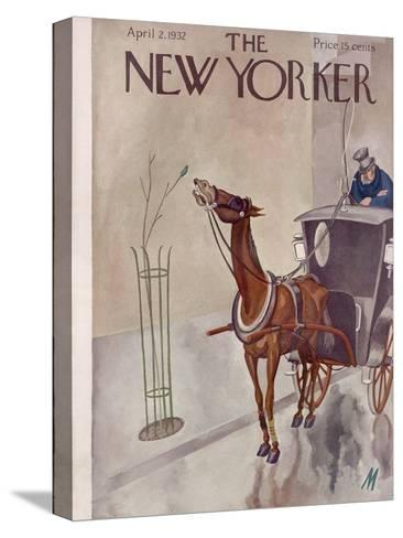 The New Yorker Cover - April 2, 1932-Julian de Miskey-Stretched Canvas Print