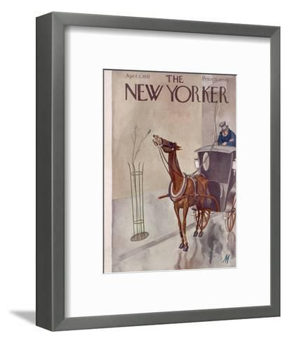 The New Yorker Cover - April 2, 1932-Julian de Miskey-Framed Art Print