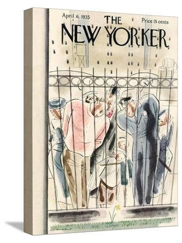 The New Yorker Cover - April 6, 1935-Leonard Dove-Stretched Canvas Print