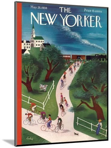 The New Yorker Cover - May 28, 1938-Victor Bobritsky-Mounted Premium Giclee Print