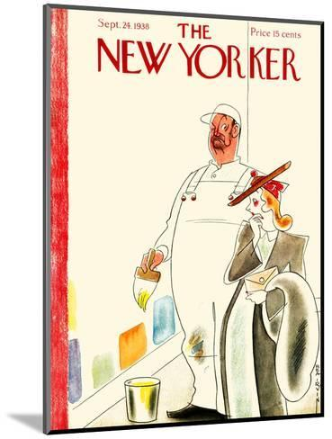 The New Yorker Cover - September 24, 1938-Rea Irvin-Mounted Premium Giclee Print