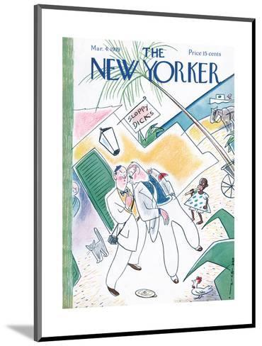 The New Yorker Cover - March 4, 1939-Rea Irvin-Mounted Premium Giclee Print