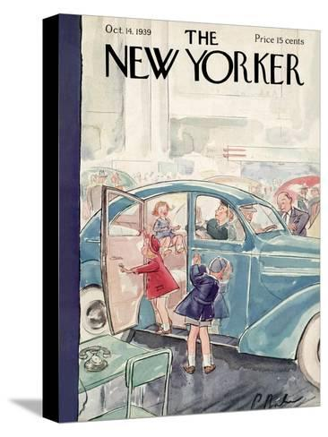 The New Yorker Cover - October 14, 1939-Perry Barlow-Stretched Canvas Print