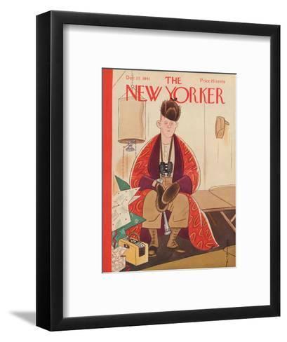 The New Yorker Cover - December 27, 1941-Rea Irvin-Framed Art Print
