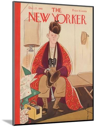 The New Yorker Cover - December 27, 1941-Rea Irvin-Mounted Premium Giclee Print