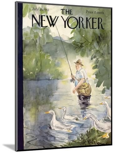 The New Yorker Cover - July 25, 1942-Perry Barlow-Mounted Premium Giclee Print