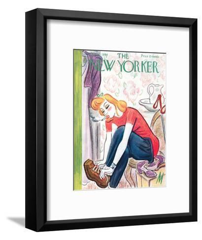 The New Yorker Cover - January 29, 1944-Julian de Miskey-Framed Art Print