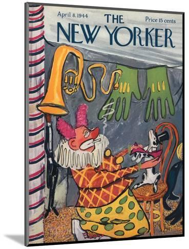 The New Yorker Cover - April 8, 1944-Ludwig Bemelmans-Mounted Premium Giclee Print