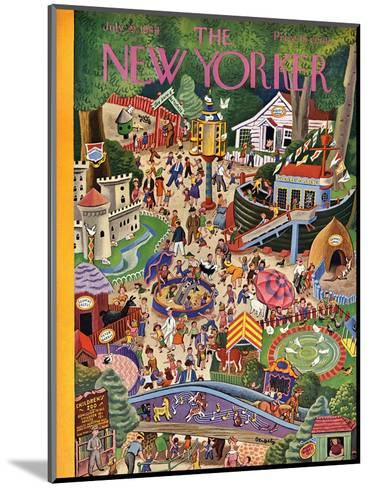 The New Yorker Cover - July 29, 1944-Tibor Gergely-Mounted Premium Giclee Print
