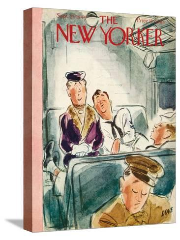 The New Yorker Cover - September 23, 1944-Leonard Dove-Stretched Canvas Print
