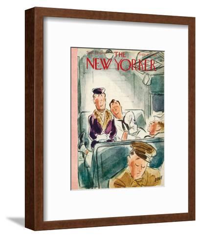 The New Yorker Cover - September 23, 1944-Leonard Dove-Framed Art Print